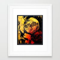 teacher Framed Art Prints featuring teacher by agnes Trachet