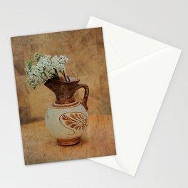 Vintage Greek Vase And Yarrow Stationery Cards