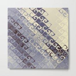 Curly art Metal Print