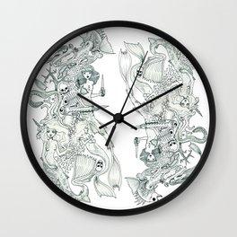 Tigerfish (Wonderful Mess Series) Wall Clock
