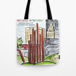 ARTivity on the Green Tote Bag