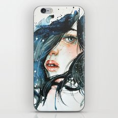 Shh iPhone & iPod Skin