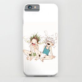 Melting Gonkiru iPhone Case