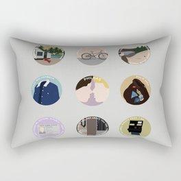PHILKAS: A MINIMALIST LOVE STORY Rectangular Pillow