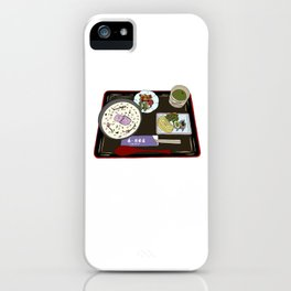 Nara Japanese Lunch Platter iPhone Case