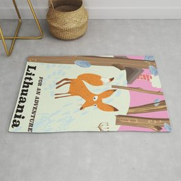 For an adventure Lithuania Rug
