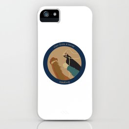 view from a horse HEADING iPhone Case