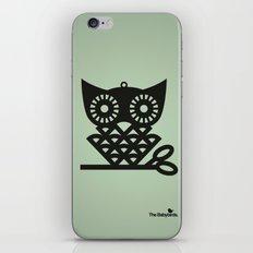 Green Hoot iPhone & iPod Skin