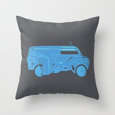 TRON Van Throw Pillow