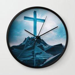 2GOD BE THE GLORY EGFXF28 Wall Clock