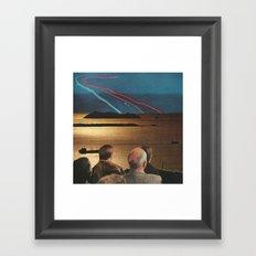end of an era Framed Art Print