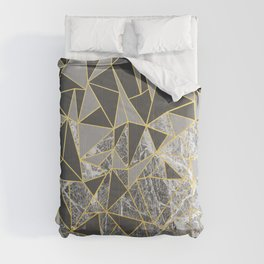 Ab Marb Grey Returned Comforters