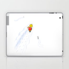 Snowy, snowy day Laptop & iPad Skin