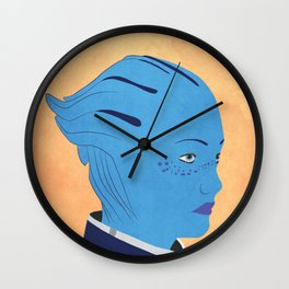 Thessia - Mass Effect Wall Clock