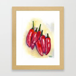 Spicy! Framed Art Print