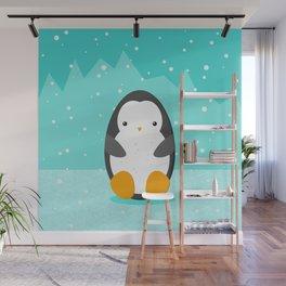 Penguin Wall Mural