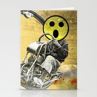 cycle Stationery Cards featuring Cycle by Trey Crim