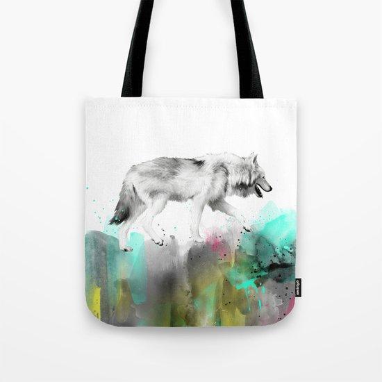 Wild No. 3 // Wolf Tote Bag