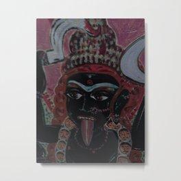Kali  The Dark Mother Metal Print