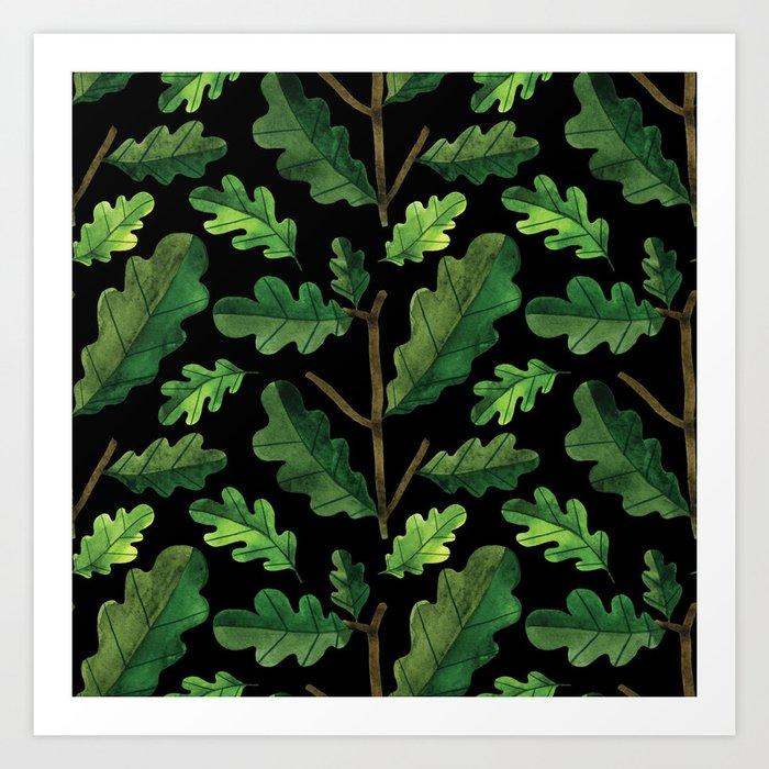 Botanic Watercolor Collection #3 Art Print