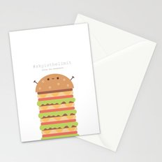 Sky is the limit - Ingredienti coraggiosi Stationery Cards