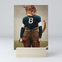 Quarterback Beans Mini Art Print