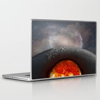 the moon Laptop & iPad Skins featuring Moon by Baris erdem