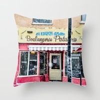 montreal Throw Pillows featuring MONTREAL by sylvianerobini