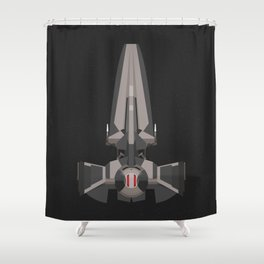 Sith Infiltrator  Shower Curtain