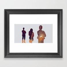 Ferris Framed Art Print