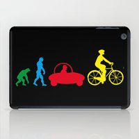 evolution iPad Cases featuring Evolution by graphic small things