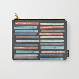 Music Snob Carry-All Pouch