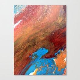 Arizona Agate Slab Canvas Print