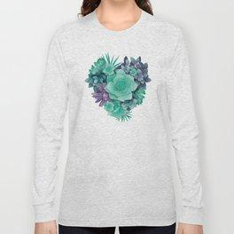 Succulent Love I Long Sleeve T-shirt