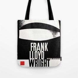 Frank Lloyd Wright - Vintage Polish Poster - Guggenheim Tote Bag
