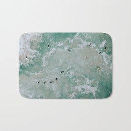 little surfers / australia Bath Mat