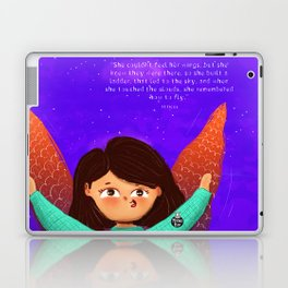 Wings to fly! Laptop & iPad Skin