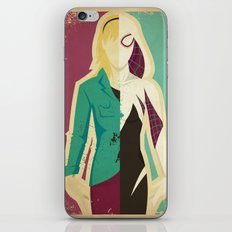 Spider Gwen iPhone & iPod Skin