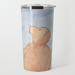 Moonlight bear Travel Mug