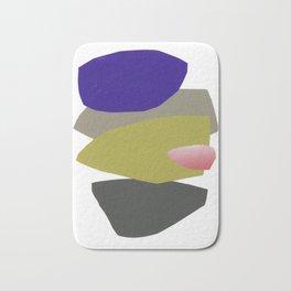 minimalist collage 04 Bath Mat