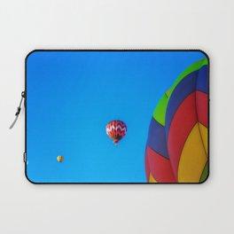 Flying Away hot air balloons Laptop Sleeve