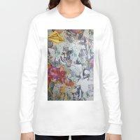 propaganda Long Sleeve T-shirts featuring WHATEVER (PROPAGANDA) by Brandon Neher