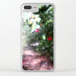 way to the dream Clear iPhone Case