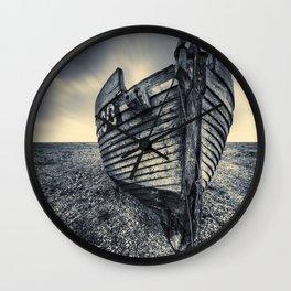 Broken Boat Wall Clock