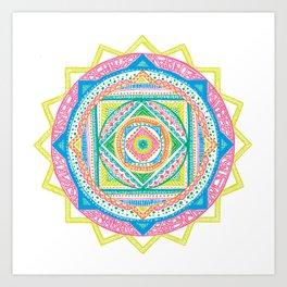 A Colourful Harmony #2 Art Print