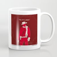 dentist Mugs featuring No184 My Django Unchained minimal movie poster by Chungkong