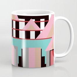 Postmodern City Skyline Coffee Mug