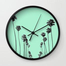 Palm Trees 9 Wall Clock