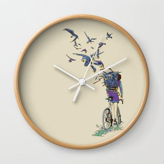 TweetJourney Wall Clock