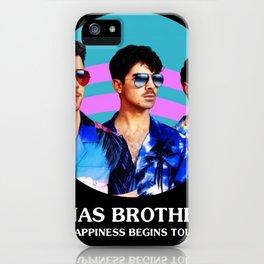 jonas brothers tour 2020 dede1 iPhone Case